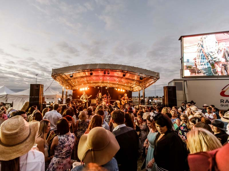Brisbane Racing Club Country Music Event Production