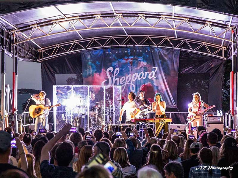 Sheppard concert event production