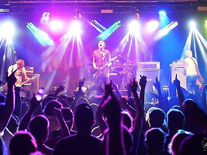 live music event lighting